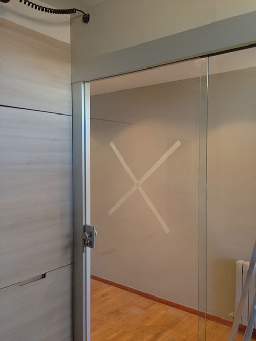Puertas correderas de vidrio carpinter a de aluminio for Correderas de aluminio