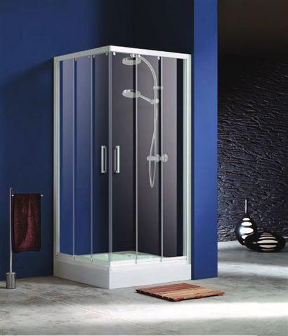 Mamparas de ducha en ba os instalaci n a for Instalacion de ventanas de aluminio