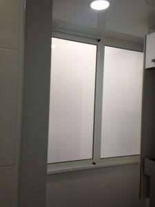 Galeria en aluminio