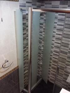 Mampara de ducha en cristal