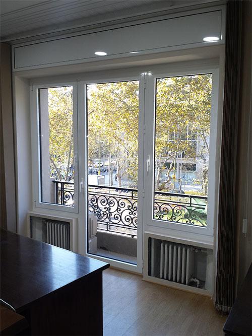 Ventanas de aluminio y pvc carpinter a de - Ventanas de aluminio en barcelona ...