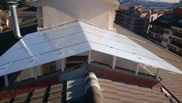 Instalaci n de claraboyas en barcelona provincia - Ventanas de aluminio en barcelona ...